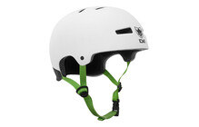 TSG Evolution FMB World Tour Helmet flat-white